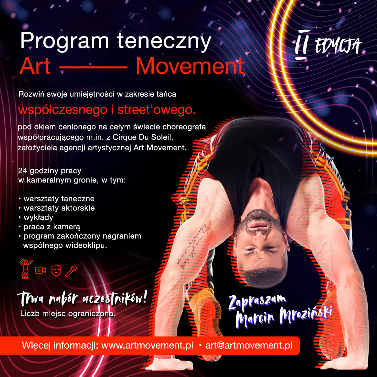 Program taneczny Art Movement